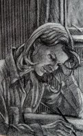 Private Collection, charcoal